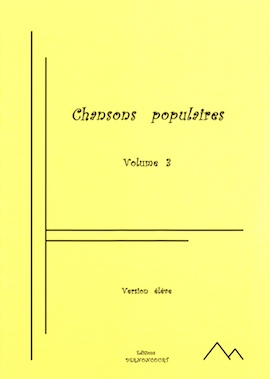 Chansons populaires Volume 3