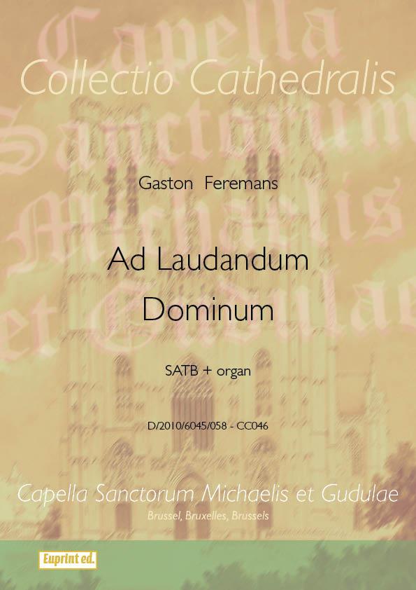 Ad Laudandum Dominimum by Gaston Feremans